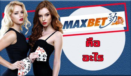 เว็บพนัน maxbet คือ อะไร ทำไม ถึงเป็น เว็บบอลออนไลน์ อันดับ 1 ในเอเชีย